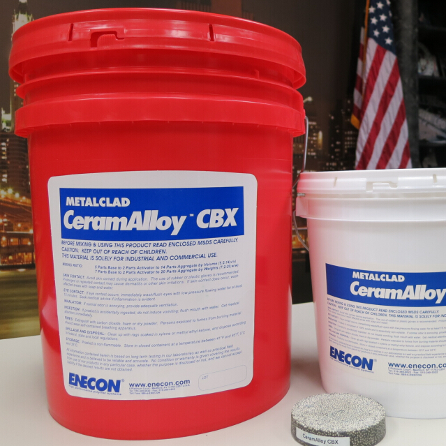 美国安耐康 ENECON,METALCAL CeramAlloy CBX 金覆耐磨合金