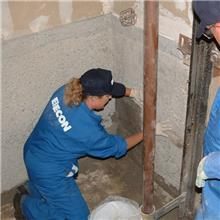 土覆WS水密解决电梯底坑泄漏问题