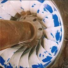 柔覆DP解决某水电站涡轮机气蚀问题
